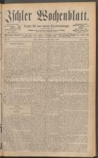 Ischler Wochenblatt 18880429 Seite: 1
