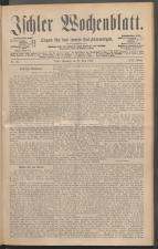 Ischler Wochenblatt 18880617 Seite: 1