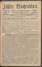 Ischler Wochenblatt 18880722 Seite: 1