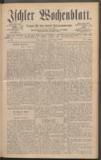 Ischler Wochenblatt 18880812 Seite: 1