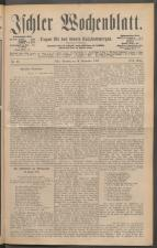 Ischler Wochenblatt 18880916 Seite: 1