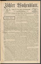 Ischler Wochenblatt 18890210 Seite: 1
