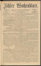 Ischler Wochenblatt 18890331 Seite: 1