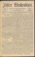 Ischler Wochenblatt 18890414 Seite: 1