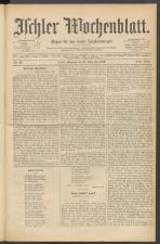 Ischler Wochenblatt 18891110 Seite: 1