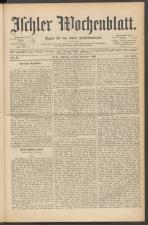 Ischler Wochenblatt 18891124 Seite: 1