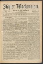 Ischler Wochenblatt 18900126 Seite: 1