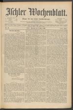 Ischler Wochenblatt 18900309 Seite: 1