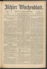 Ischler Wochenblatt 18900518 Seite: 1