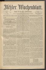 Ischler Wochenblatt 18910329 Seite: 1