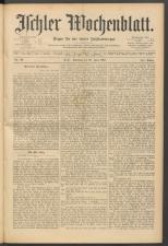 Ischler Wochenblatt 18910628 Seite: 1