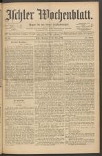 Ischler Wochenblatt 18920320 Seite: 1