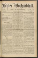 Ischler Wochenblatt 18921002 Seite: 1