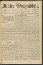 Ischler Wochenblatt 18921218 Seite: 1