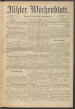 Ischler Wochenblatt 18930101 Seite: 1