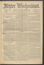 Ischler Wochenblatt 18930122 Seite: 1