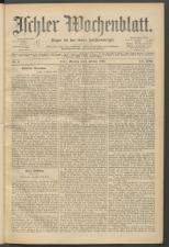 Ischler Wochenblatt 18930205 Seite: 1