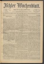 Ischler Wochenblatt 18930219 Seite: 1