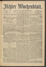 Ischler Wochenblatt 18930319 Seite: 1