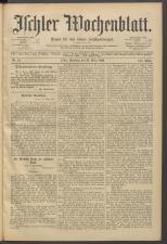 Ischler Wochenblatt 18930325 Seite: 1