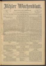 Ischler Wochenblatt 18930416 Seite: 1