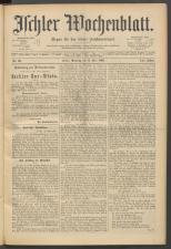 Ischler Wochenblatt 18930514 Seite: 1