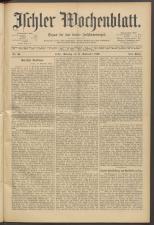 Ischler Wochenblatt 18930917 Seite: 1