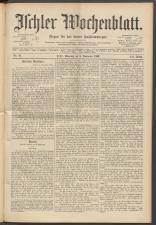 Ischler Wochenblatt 18931105 Seite: 1