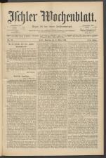 Ischler Wochenblatt 18940311 Seite: 1