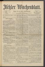 Ischler Wochenblatt 18940506 Seite: 1