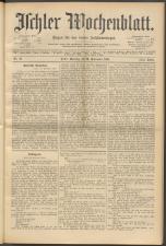 Ischler Wochenblatt 18940916 Seite: 1