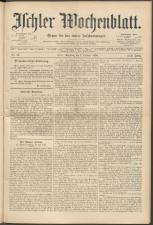 Ischler Wochenblatt 18941007 Seite: 1