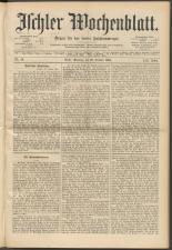 Ischler Wochenblatt 18941028 Seite: 1