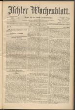 Ischler Wochenblatt 18941202 Seite: 1