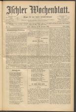 Ischler Wochenblatt 18941223 Seite: 1