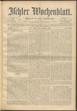 Ischler Wochenblatt 18950908 Seite: 1