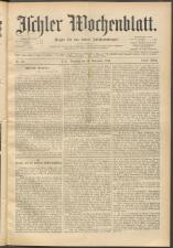 Ischler Wochenblatt 18950915 Seite: 1
