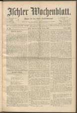 Ischler Wochenblatt 18951020 Seite: 1