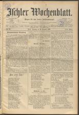 Ischler Wochenblatt 18951229 Seite: 1