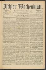 Ischler Wochenblatt 18960209 Seite: 1