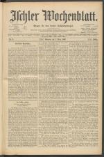 Ischler Wochenblatt 18960301 Seite: 1