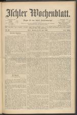 Ischler Wochenblatt 18960628 Seite: 1