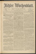 Ischler Wochenblatt 18960809 Seite: 1