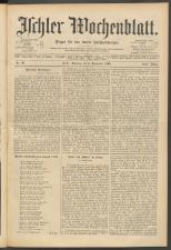 Ischler Wochenblatt 18960906 Seite: 1