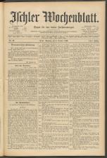 Ischler Wochenblatt 18961004 Seite: 1