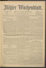 Ischler Wochenblatt 18970221 Seite: 1