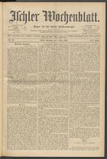 Ischler Wochenblatt 18970307 Seite: 1