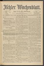 Ischler Wochenblatt 18970328 Seite: 1