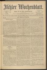 Ischler Wochenblatt 18970509 Seite: 1