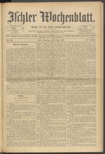 Ischler Wochenblatt 18970620 Seite: 1